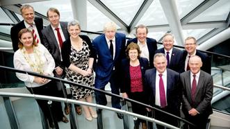 Cabinet y Grŵp Dinasoedd Craidd gyda Maer Llundain
